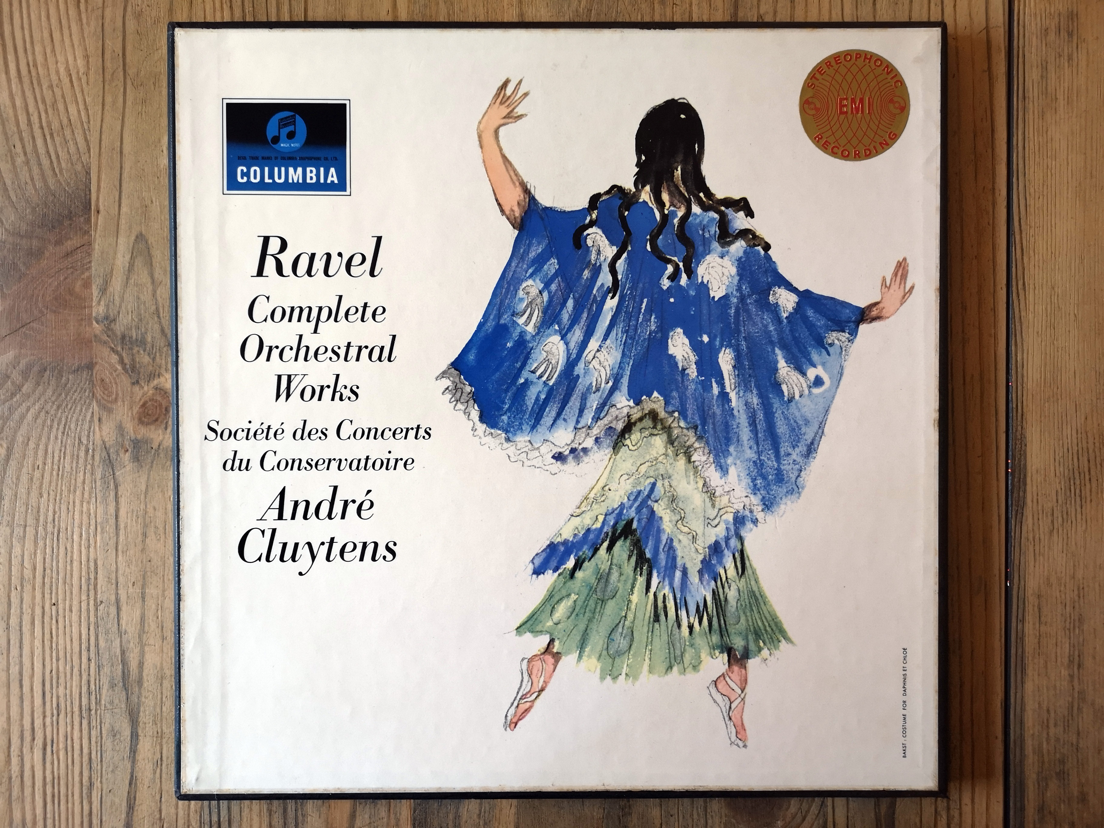 ERC061 - The Complete Orchestral Works of Maurice Ravel conducted by André Cluytens