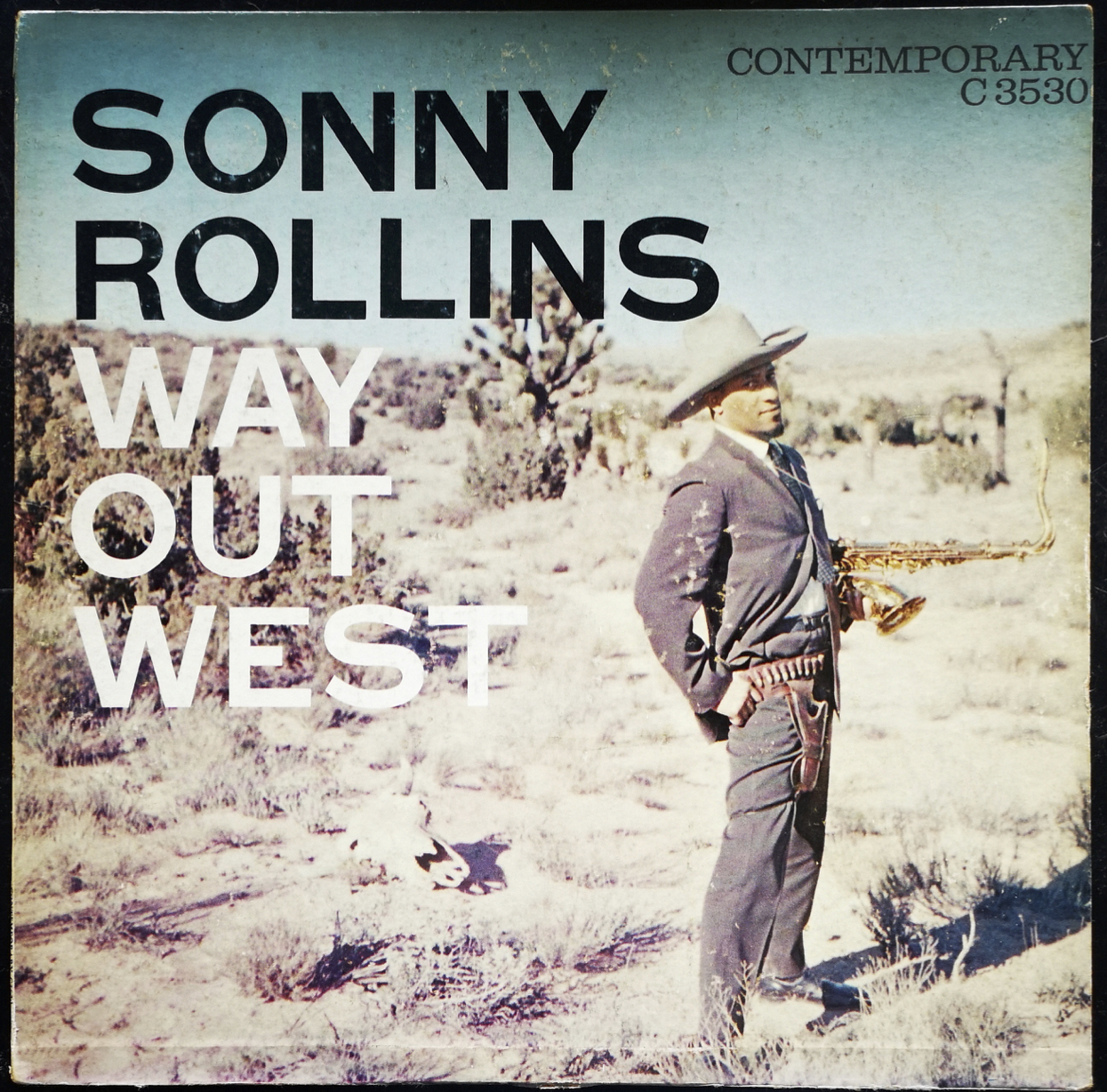 ERC053M Sonny Rollins - Way Out West (True Mono)